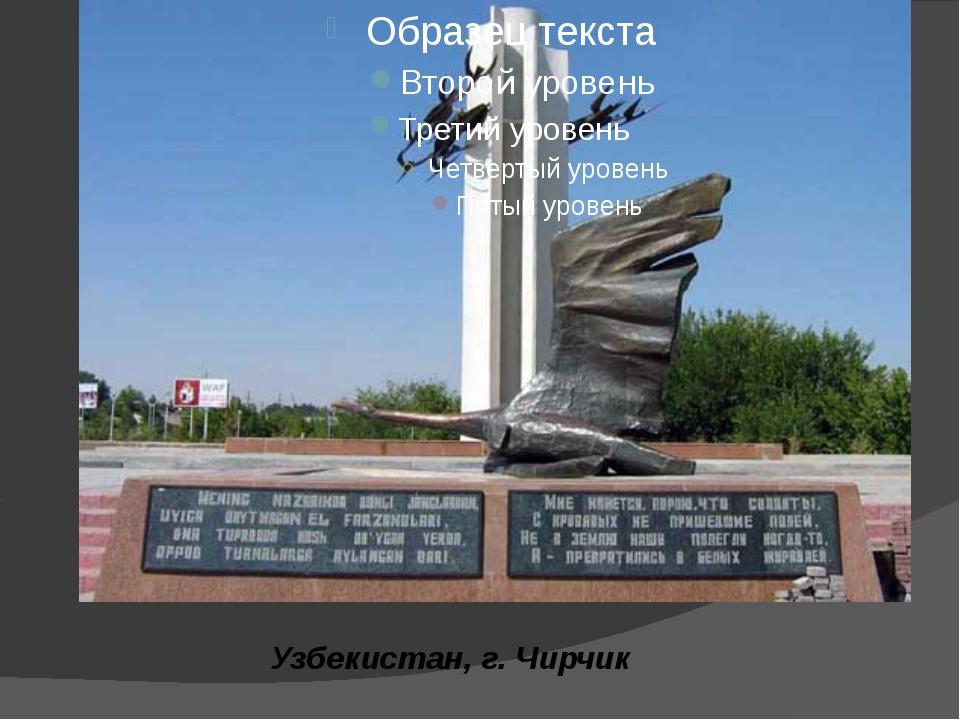 Узбекистан, г.Чирчик