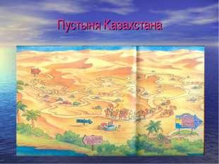 Пустыня Казахстана