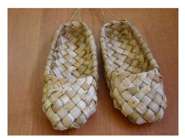 обувь Лыковые лапти