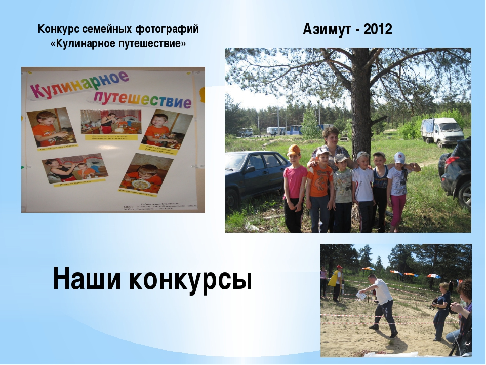 Наши конкурсы Конкурс семейных фотографий «Кулинарное путешествие» Азимут - 2...