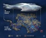 Подледный рельеф Антарктиды
