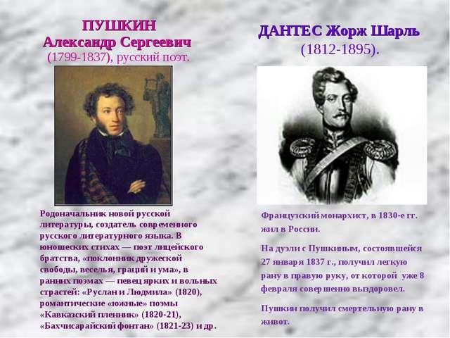 Родоначальник новой русской литературы, создатель современного русского литер...