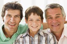 Сын, отец и дедушка