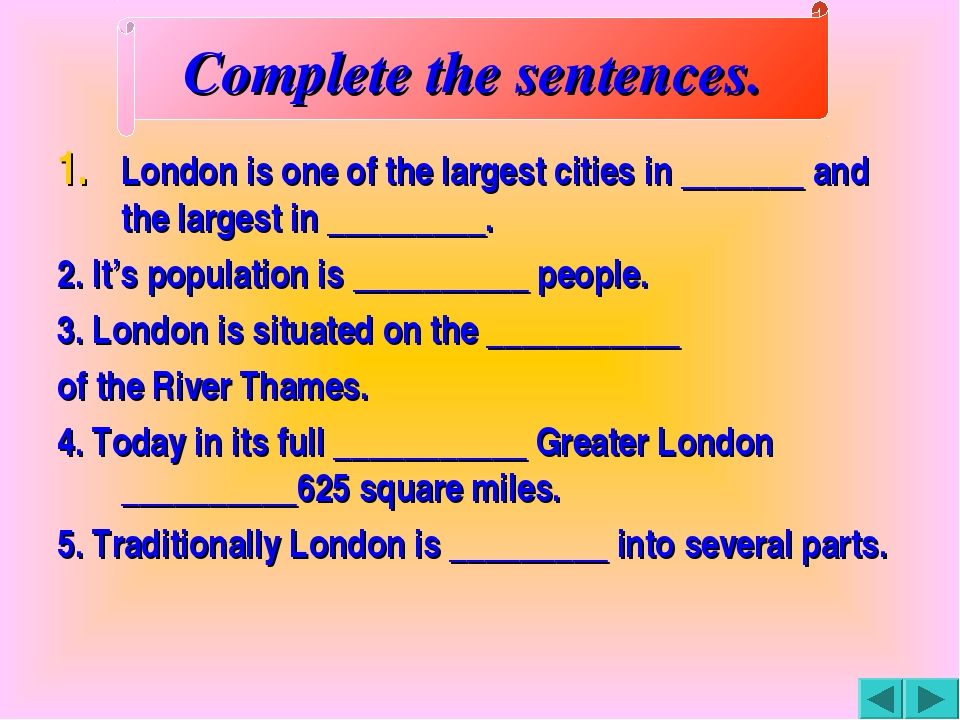 London is one of the largest cities in _______ and the largest in _________....