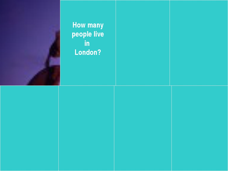 How many people live in London?