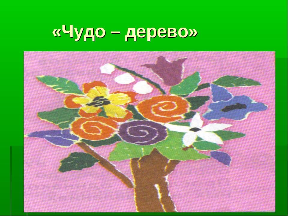 «Чудо – дерево»