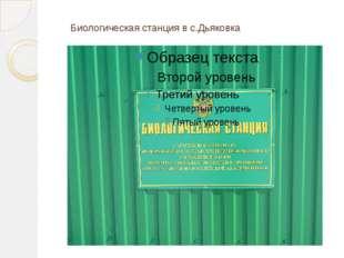 Биологическая станция в с.Дьяковка