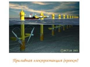 Приливная электростанция (проект)