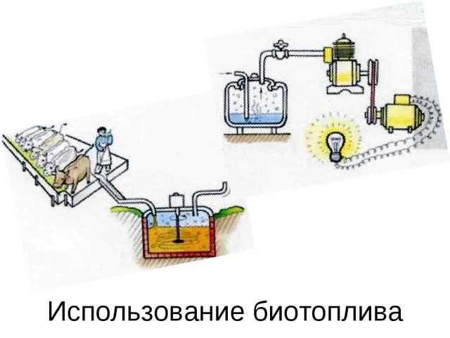 Использование биотоплива