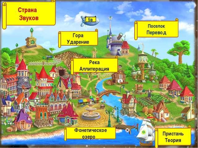 Страна Звуков Гора Ударение Река Аллитерация Поселок Перевод Фонетическое озе...