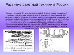 Развитие ракетной техники в России Вторая половина XX века является эпохой бу
