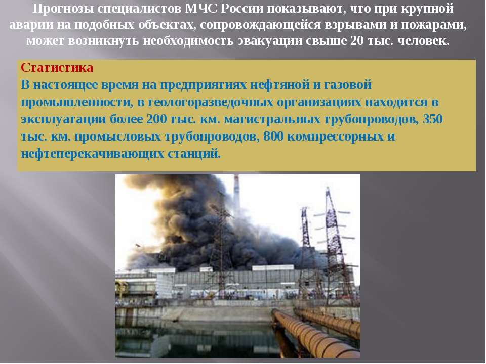 Прогнозы специалистов МЧС России показывают, что при крупной аварии на подобн...