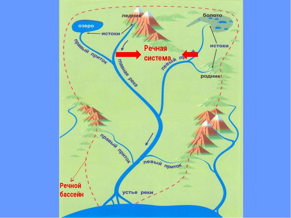 Речной бассейн Речная система