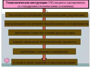 условия и сроки хранения и транспортирования. Технологические инструкции (ТИ