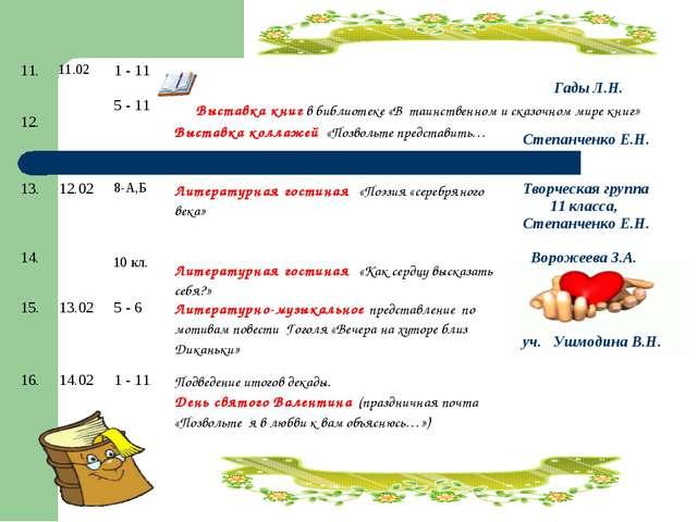 Выставка книг в библиотеке «В таинственном и сказочном мире книг» 11. 12.11....