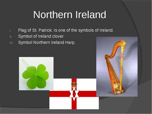 Northern Ireland Flag of St. Patrick. Is one of the symbols of Ireland. Symbo...
