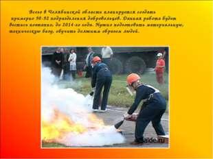 Всего в Челябинской области планируется создать примерно 90-92 подразделения