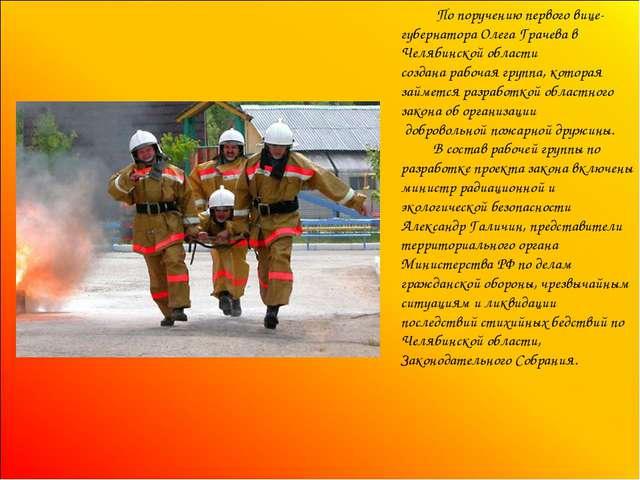 По поручению первого вице-губернатора Олега Грачева в Челябинской области со...