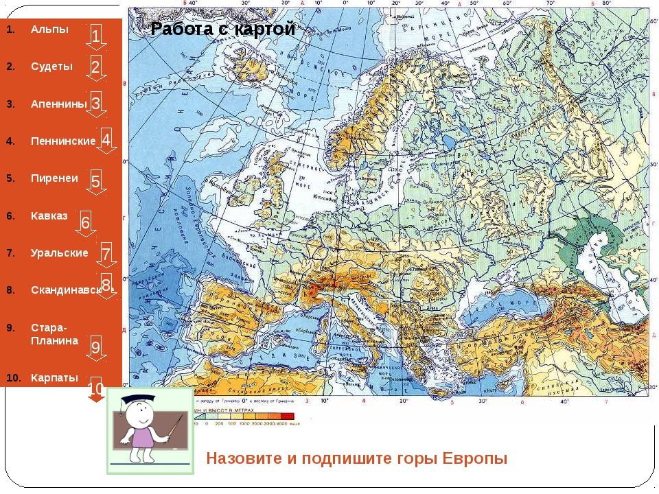 Температуры июля Определите по карте в каких районах страны температуры июля...