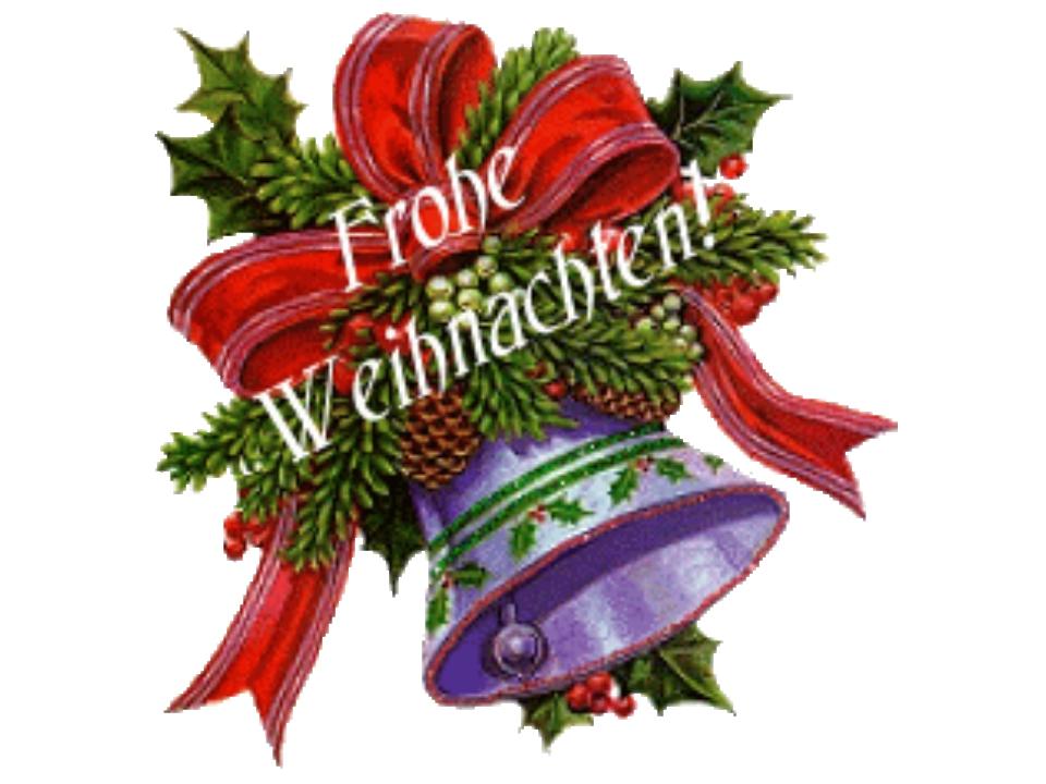 Открытка на немецком языке к рождеству, легкие