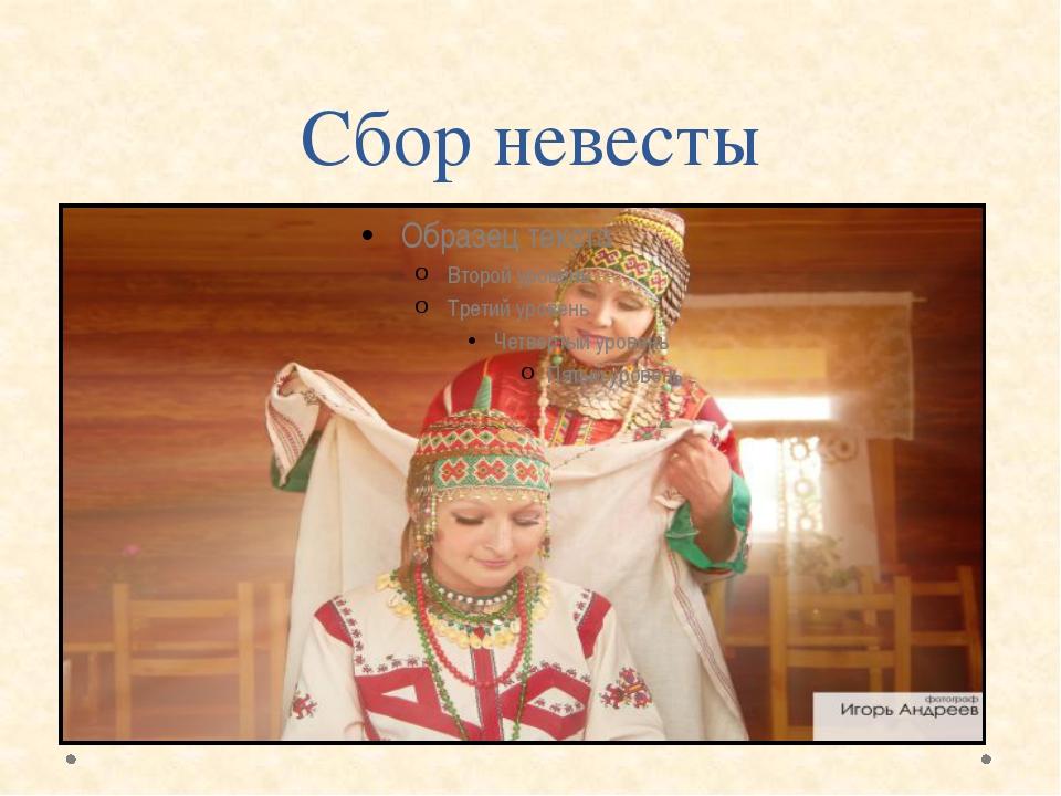 Сбор невесты