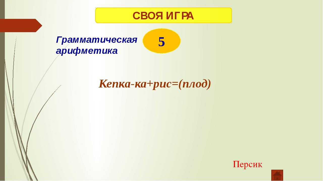 СВОЯ ИГРА 1 Альбом Ребусы БОМ