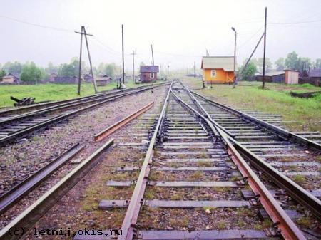 Заонежская железная дорога - фотографии, сделанные в 2005 году (часть 8)