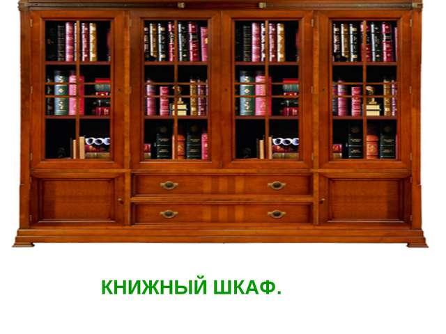 КНИЖНЫЙ ШКАФ.