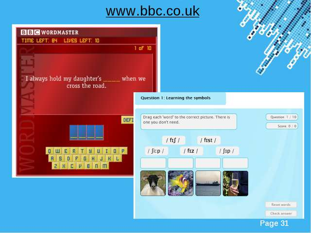 www.bbc.co.uk Powerpoint Templates Page *