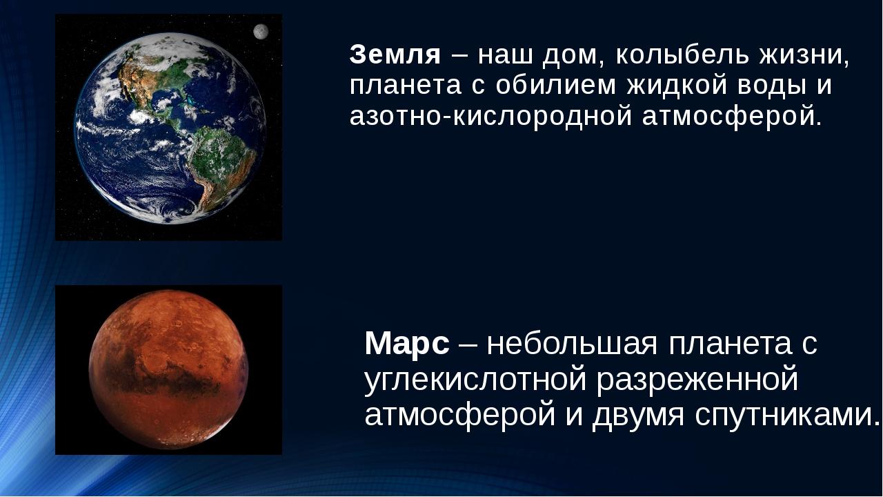 Земля– наш дом, колыбель жизни, планета с обилием жидкой воды и азотно-кисло...