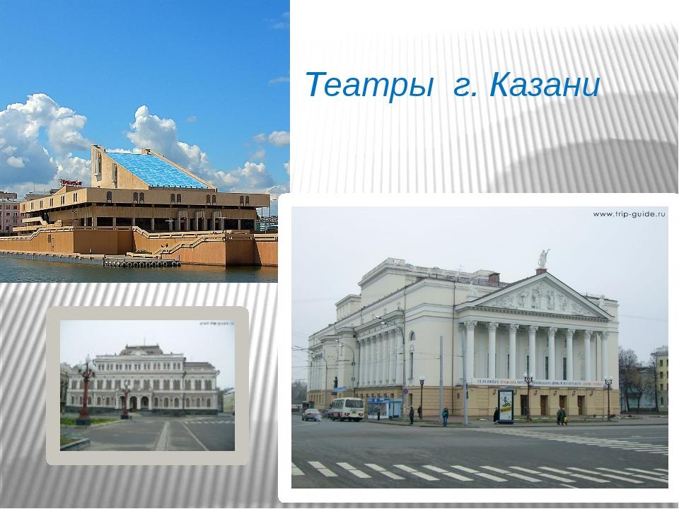 Театры г. Казани