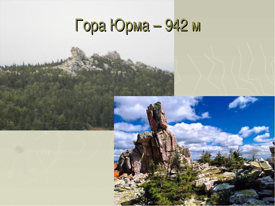 Гора Юрма – 942 м