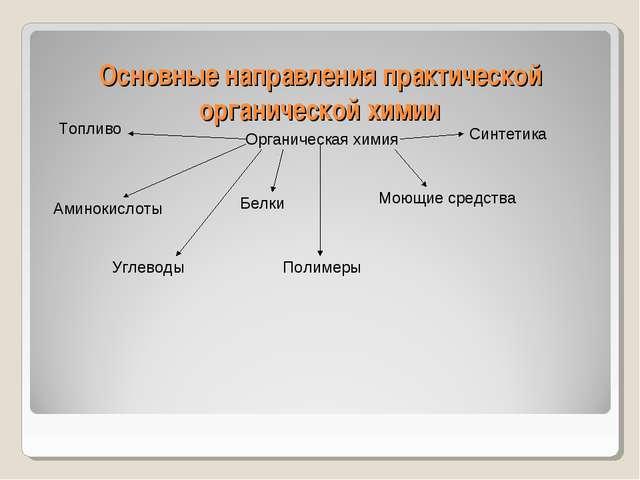 Основные направления практической органической химии Органическая химия Амино...