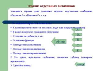 назад В D. С Е А. Таблица