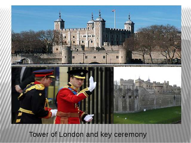 Tower of London and key ceremony