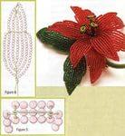 Цветы из бисера для заколки - Изготавлимаем цветы