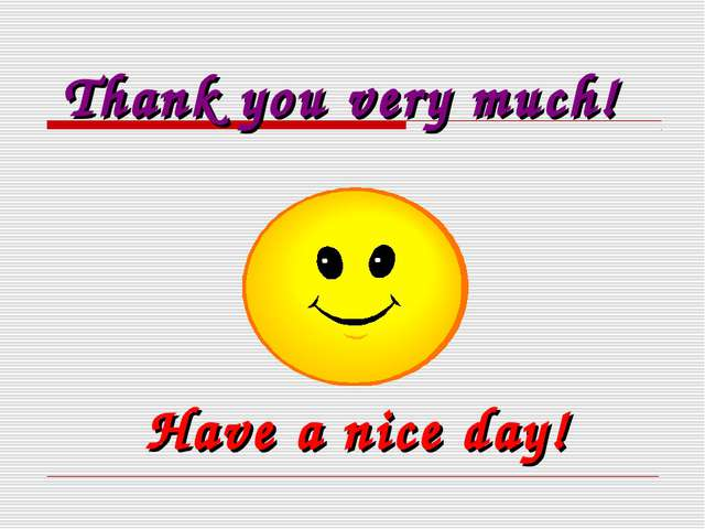 Thank you very much! Have a nice day!