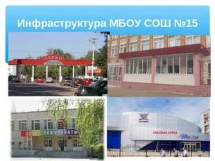 Инфраструктура МБОУ СОШ №15
