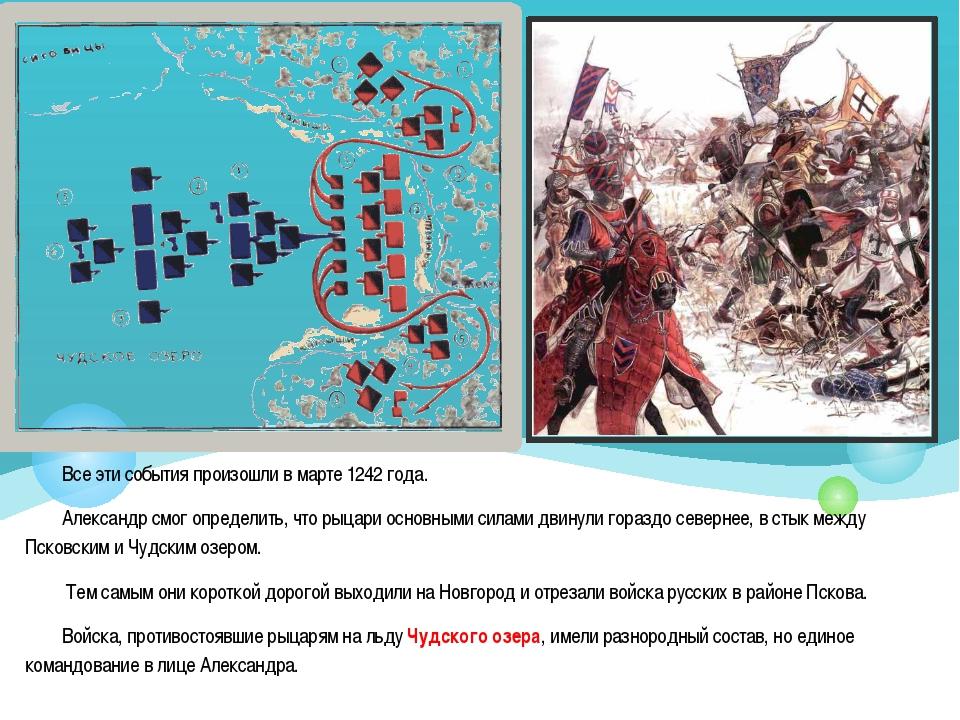 Все эти события произошли в марте 1242 года. Александр смог определить, что р...