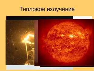 Тепловое излучение