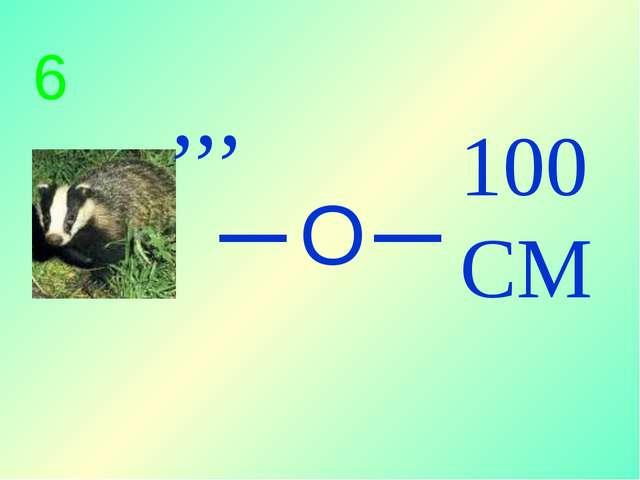 100 СМ _ ,,, 6 О _