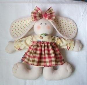 Игрушки своими руками из ткани выкройки - Куклы