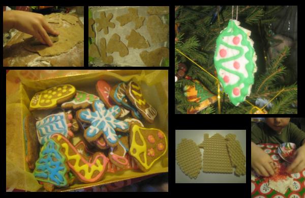 украшение имбирного печенья
