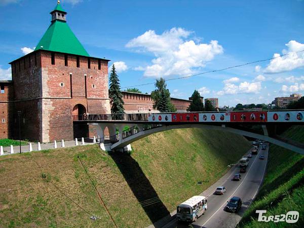 фото башня никольская
