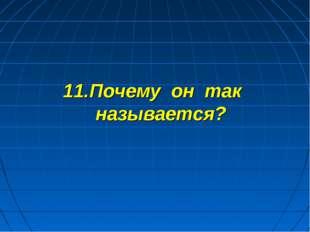 11.Почему он так называется?