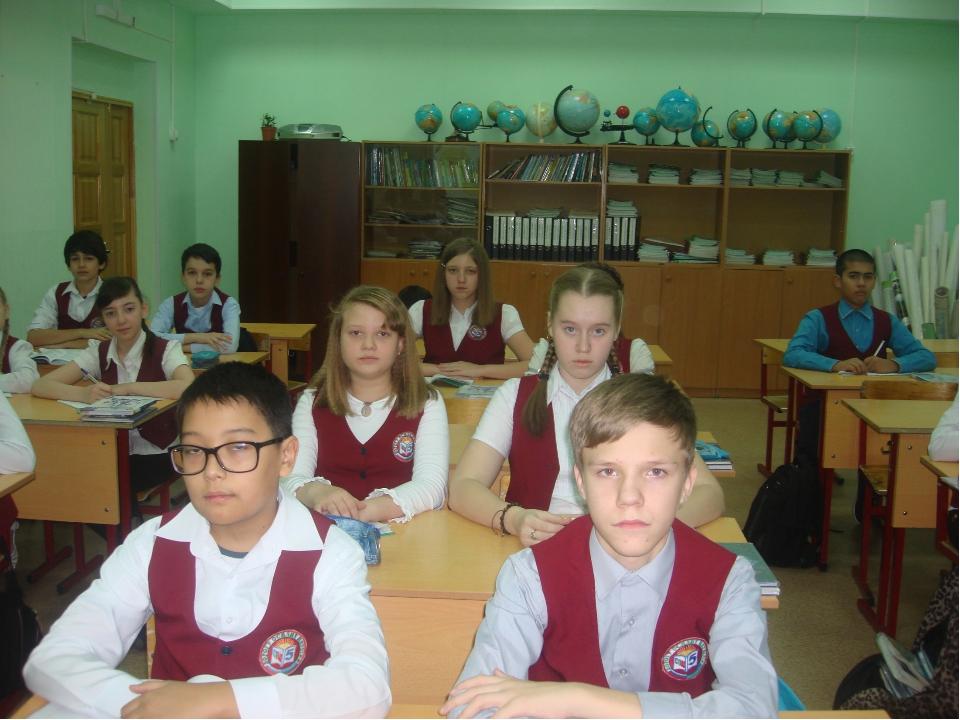 Урок в 6в классе Класс со средними способностями: Отличников – нет хорошистов...
