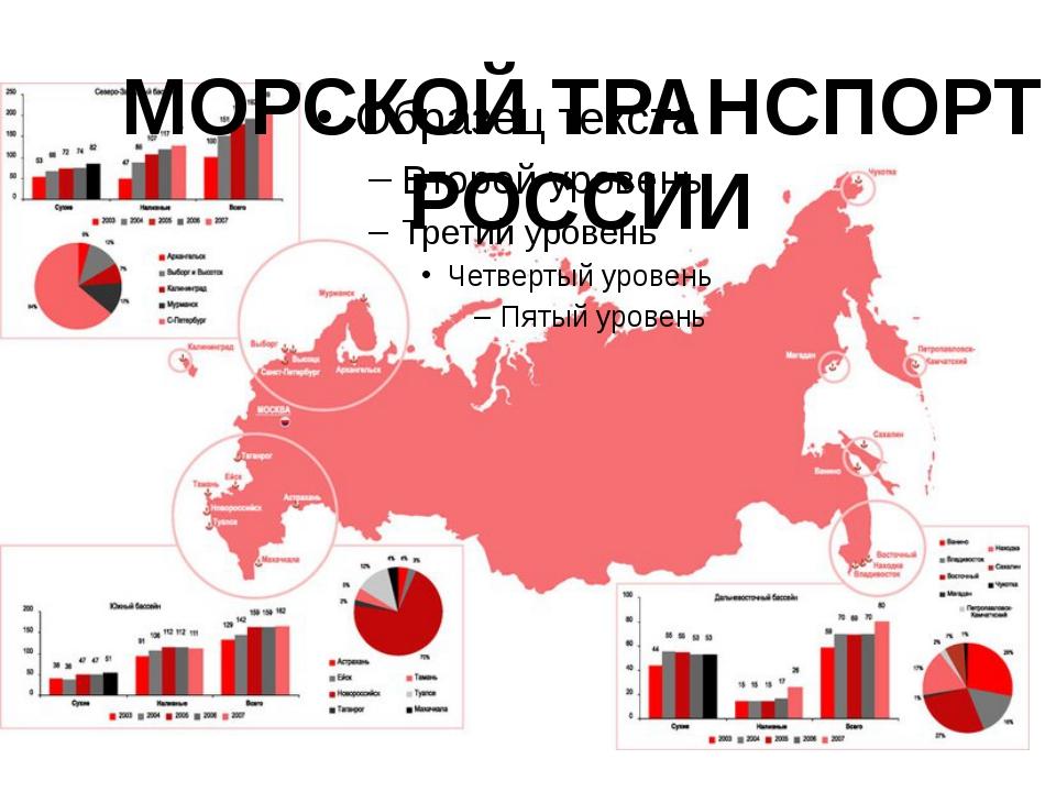 МОРСКОЙ ТРАНСПОРТ РОССИИ