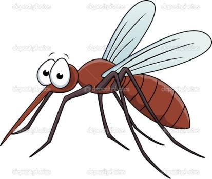 Мультфильм комаров - Стоковое векторное изображение Surya Ali Zaidan #9456457