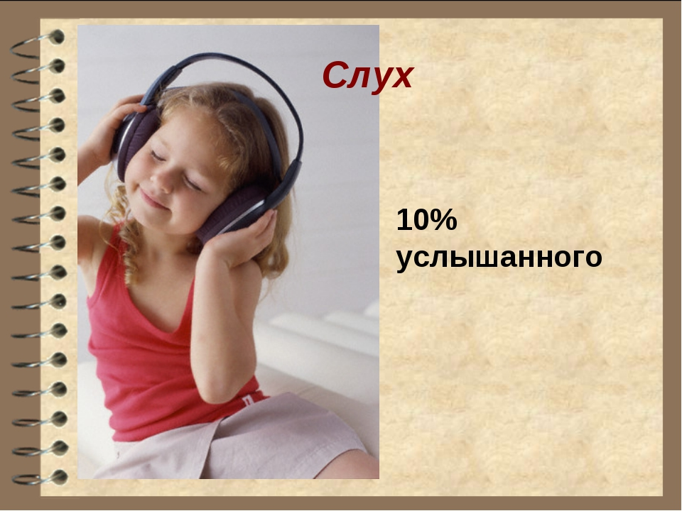 Слух 10% услышанного