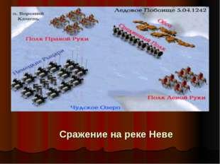 Сражение на реке Неве